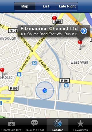 Nycomed Irish Pharmacy Finder