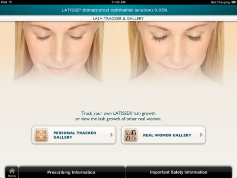iLash Studio for iPad