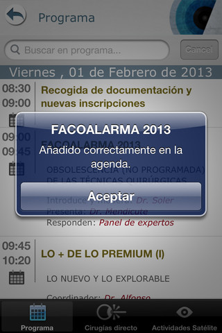 Faco Elche 2013 for iPhone