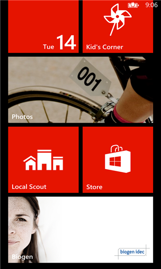 Biogen for Windows Phone