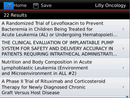 Lilly Oncology CT Resource