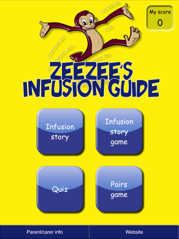 ZeeZee's Infusion Guide for iPad