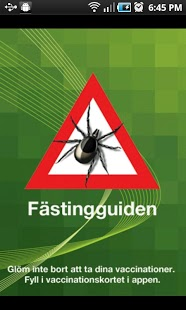Fästingguiden for Android
