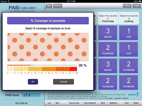 Psoriasis Severity Calculator