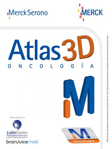 Atlas 3D Oncología for iPad