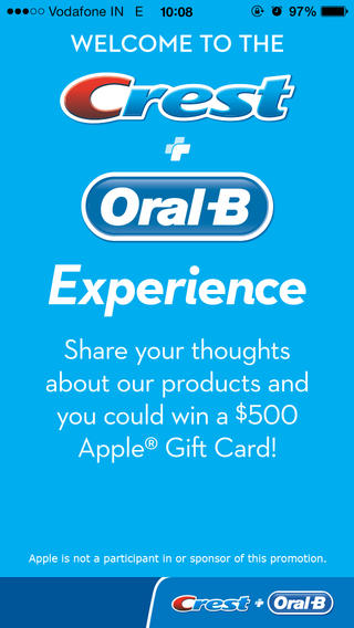 Crest + Oral-B Experience