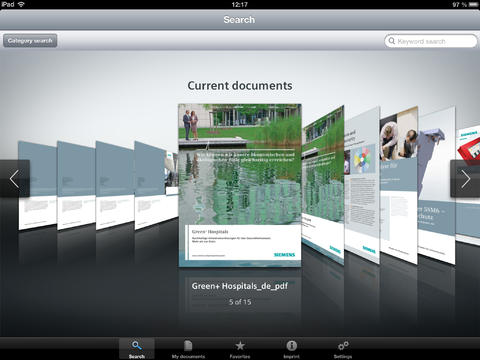 Download Center for iPad