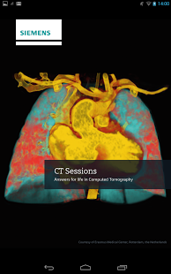 CT Sessions for Tablet