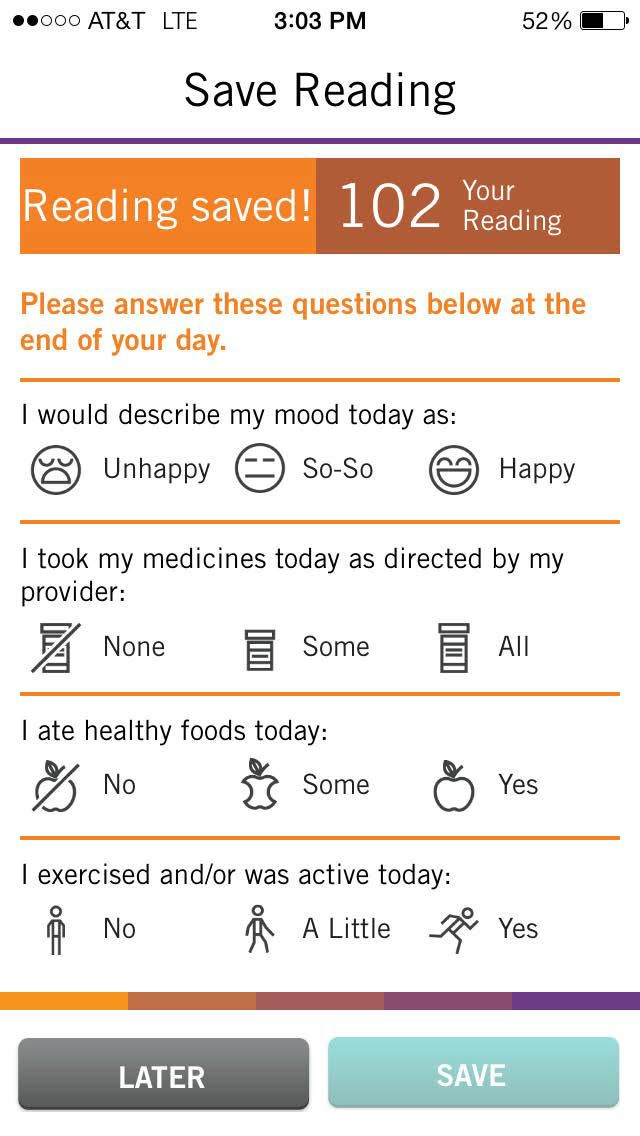 POCKET MD - Diabetes HealthMate for iPhone, Take charge of