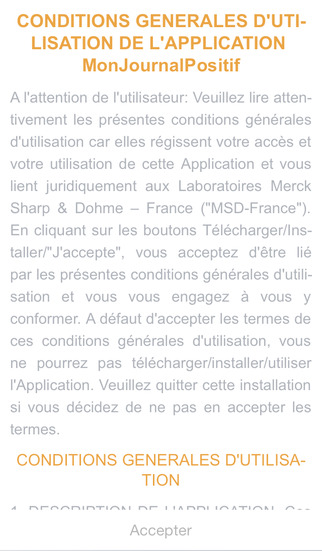 Mon Journal Positif pour smartphone for iPhone