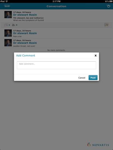 MedExpertConnect for iPad