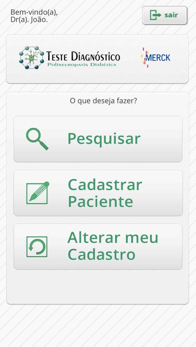 Testes Diagnostico PND for iPhone