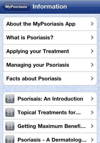 My Psoriasis for iPhone