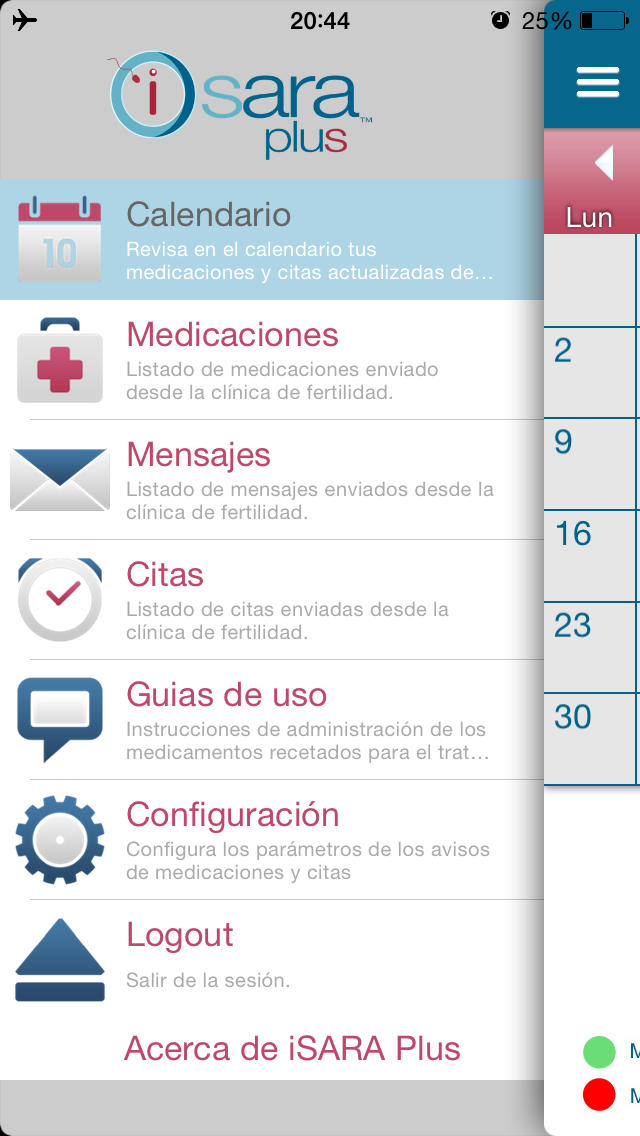 iSARA Plus - Merck Serono for iPhone
