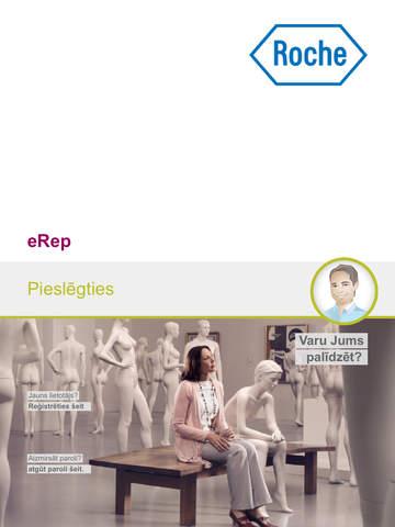 Roche eRep for iPad