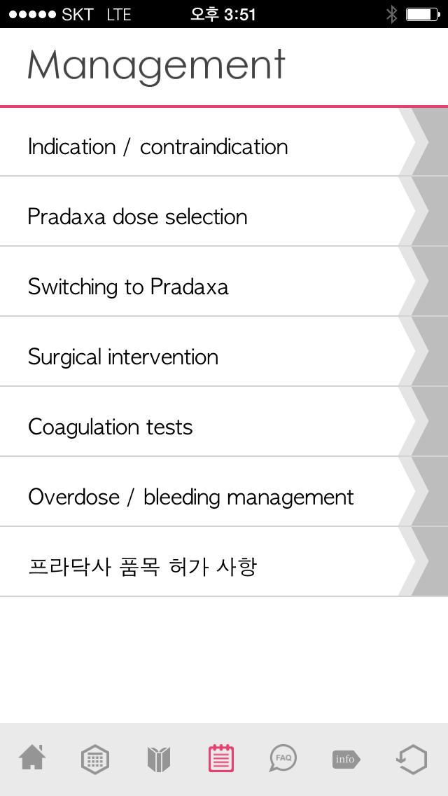 Pradaxa for iPhone