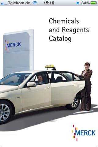 Merck Catalog for iPhone