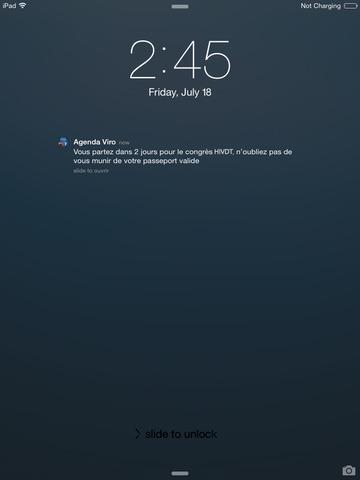 Calendrier des congrès et évènements Janssen en Virologie 2013 for iPad