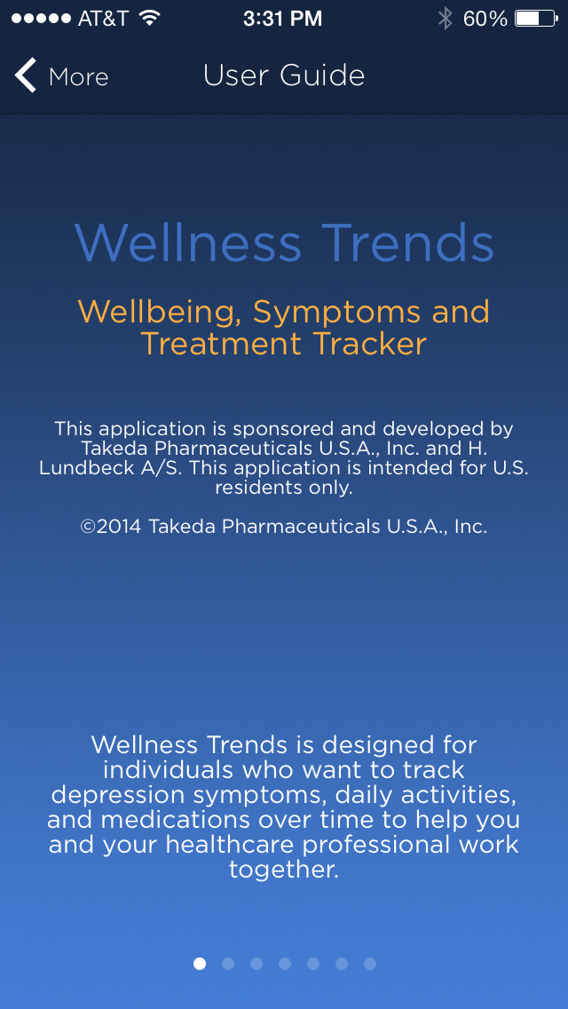 Wellness Trends for iPhone