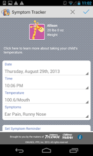 Kids' Wellness Tracker