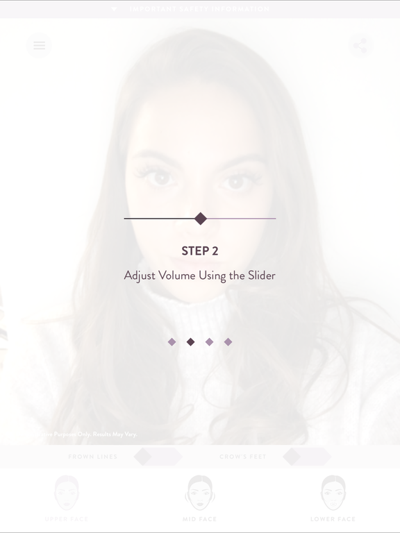 JUVEDERM Treatment Visualizer for iPad