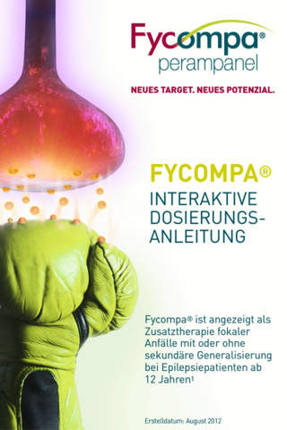 Fycompa Dosierungs-App iPhone for iPhone