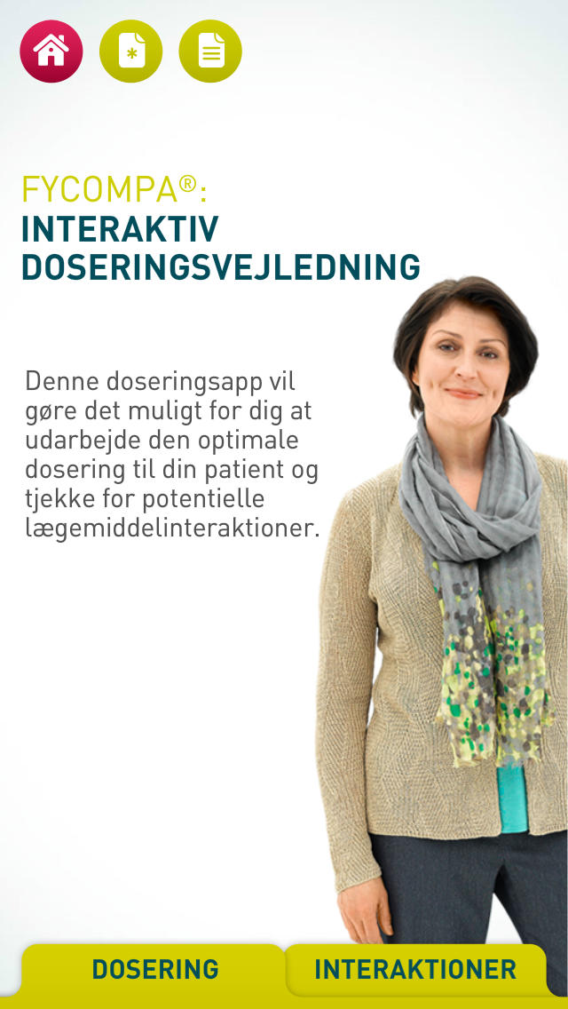 Fycompa Dosing App for iPhone Denmark for iPhone