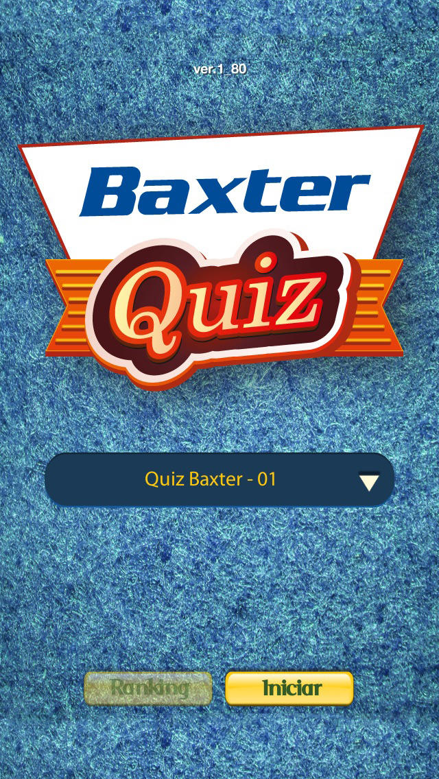 Baxter Quiz for iPhone
