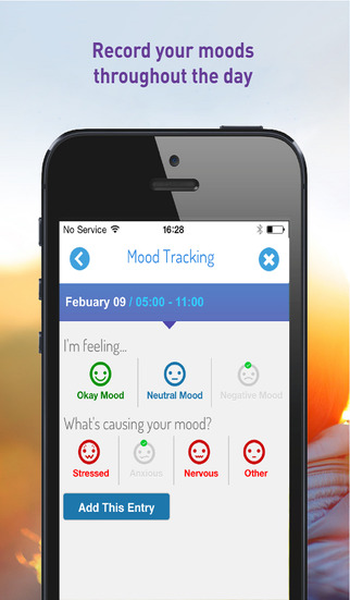 MyRHYTHM™ by IMODIUM®: Discover the foods & moods associated with your diarrhoea bouts for iPhone