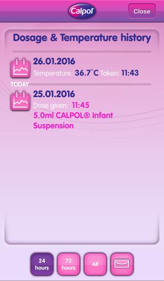 CALPOL® for iPhone