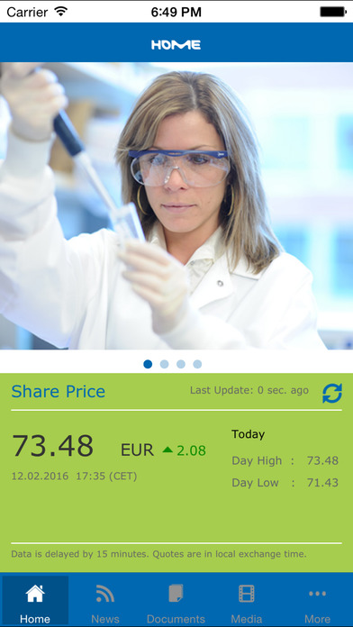 Merck – Investor Relations for iPhone