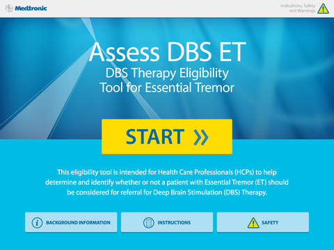 Assess DBS ET for iPad