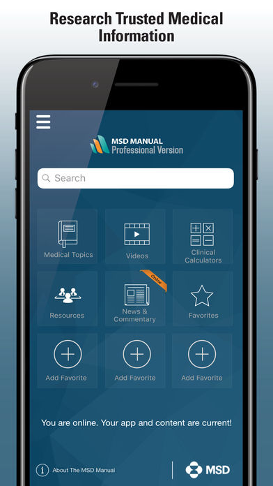 MSD Professional Version for iPhone