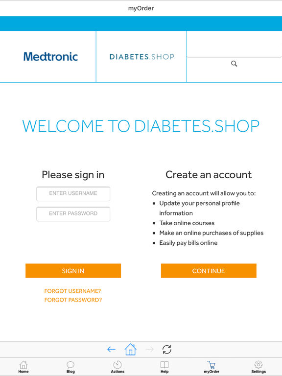 myMedtronic Connect for iPad