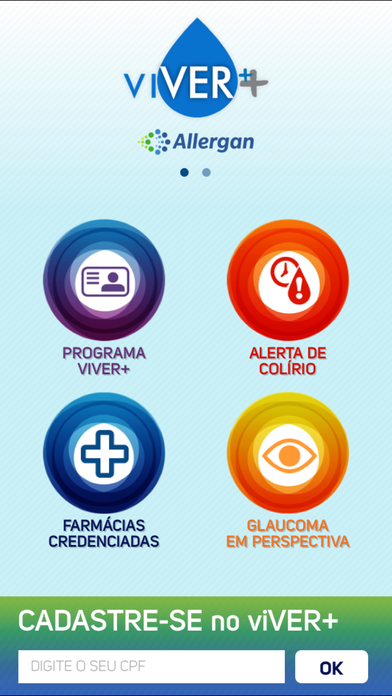 viVER+ Allergan - Alerta de Colírio for iPhone