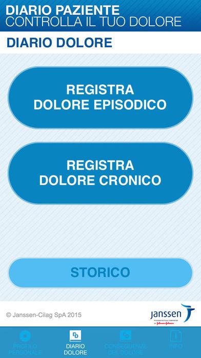 Diario Dolore for iPhone