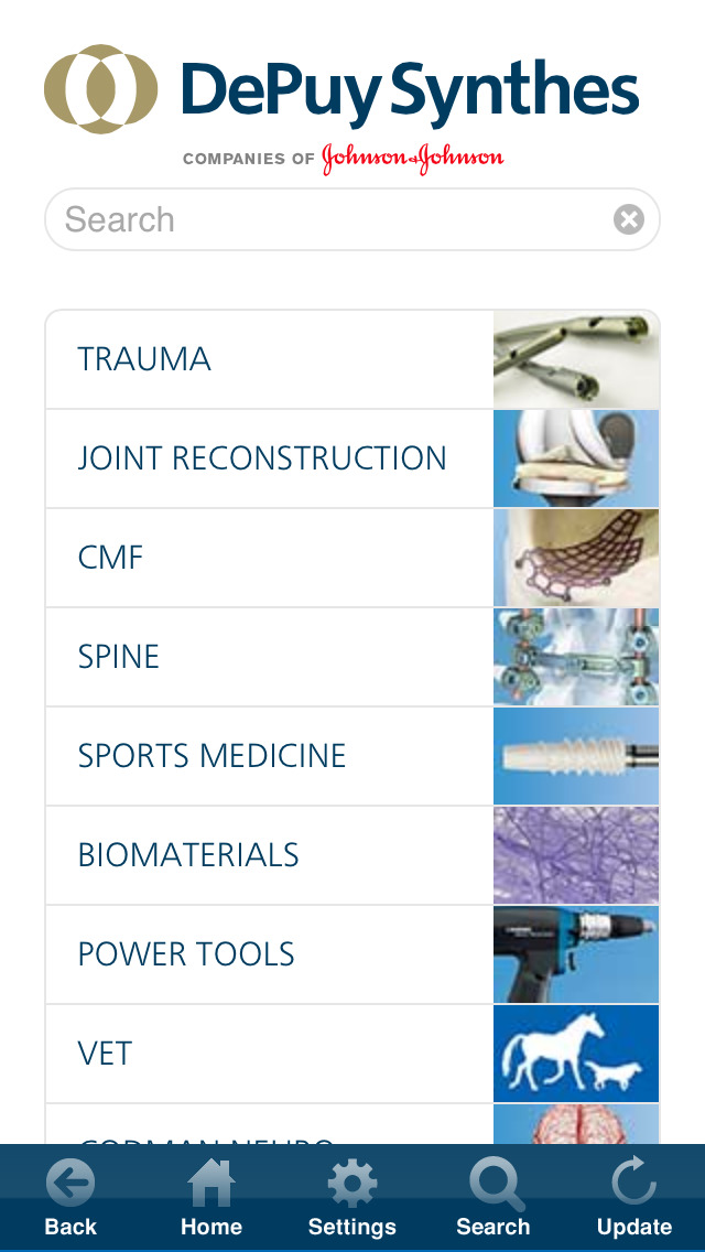 DePuy Synthes for iPhone