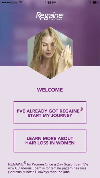 REGAINE® FOR WOMEN for iPhone