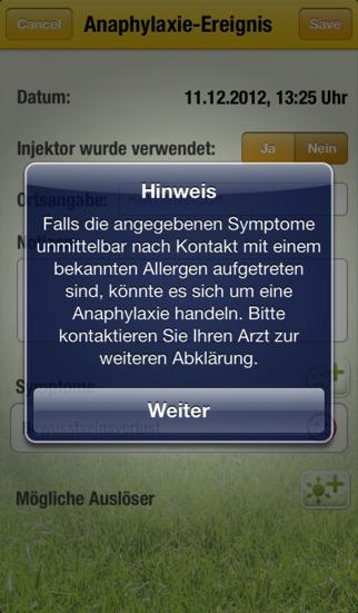Allergo Manager – der Allergiebegleiter for iPhone