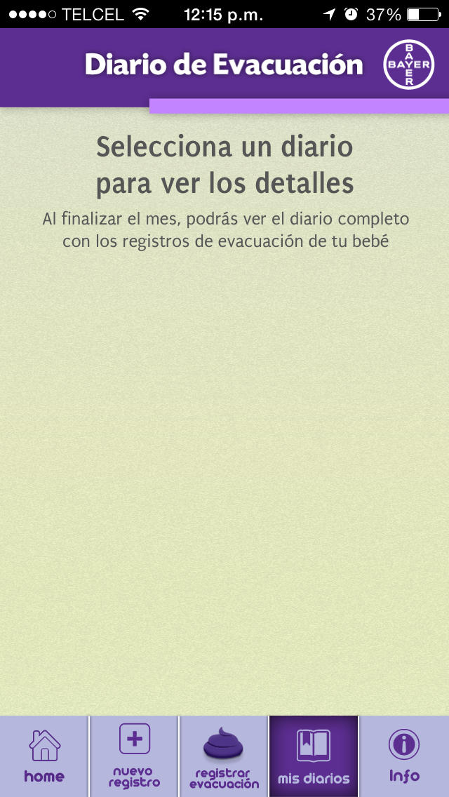 Diario de evacuación Novalac for iPhone
