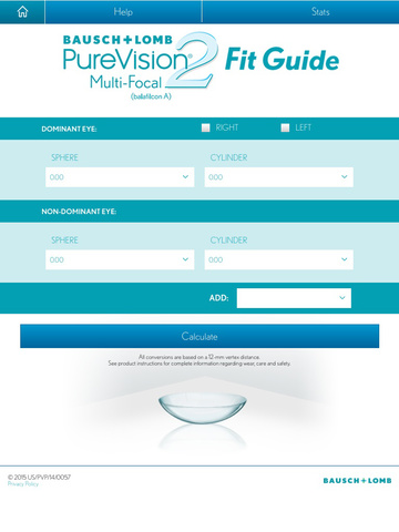 Purevision 2 for presbyopia for eye care professionals.