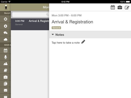 Lundbeck Events for iPad