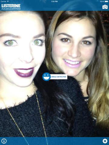 LISTERINE® Smile Detector for iPad