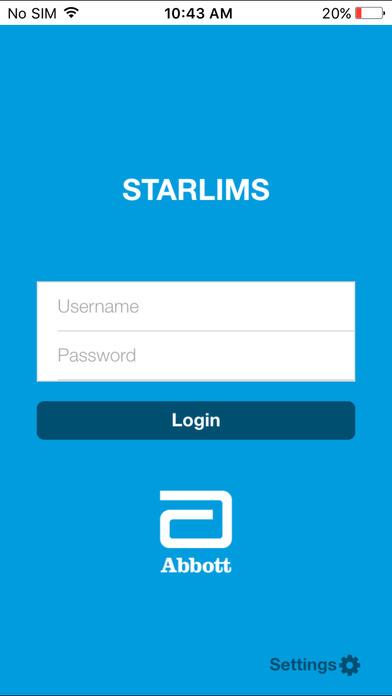 myStarlims for iPhone