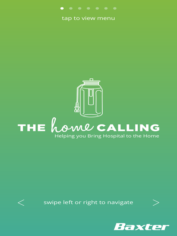 The Home Calling for iPad