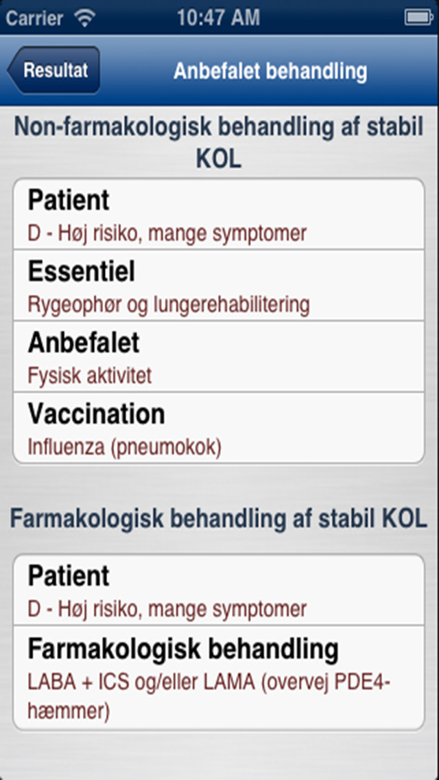KOL-Guidelines DLS 2012 for iPhone