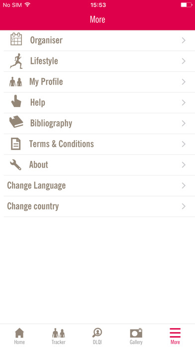 My Psoriasis Tracker for iPhone