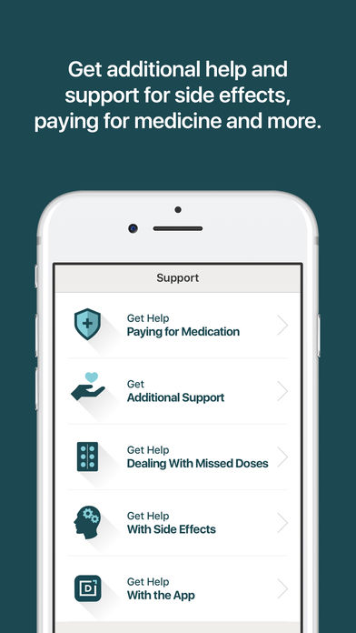 Daily Charge - HIV Support for iPhone