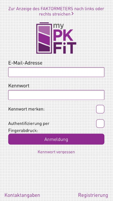 MyPKFiT for iPhone