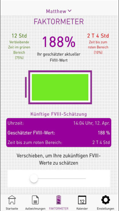 MyPKFiT for iPhone